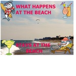 WHAT HAPPENS ON THE BEACH