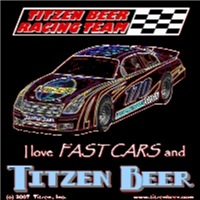 Titzen Beer Racing - American Iron (Outline)
