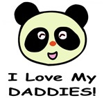 I Love My Daddies (Panda) Baby Wear & Gifts