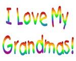 I Love My Grandmas Baby Wear & Gifts