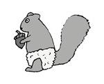 Underpants Squirrel