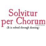 It is solved through dancing