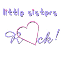 Little Sisters Rock Hearts Shirts and More