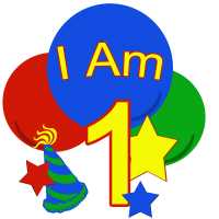 Primary Colors I am one birthday shirt and more