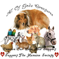Humane Society All God's Creatures Animal Support