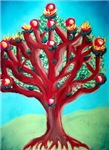 Tree of Life Menorah