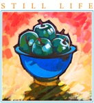 Still Life - Green Apples