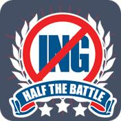 No Ing Is Half The Battle