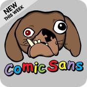 Comic Sans Dog