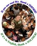 Thank a Soldier, Thank  a Teacher