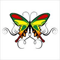 Reggae Butterfly