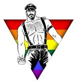 Rainbow Leather Man