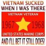 NAM SUCKED 67 & 68 USMC