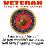 Vietnam Veteran and the Maggot