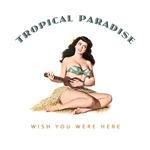 Tropical Paradise Island Girl 2