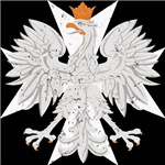 Polish Eagle White Cross
