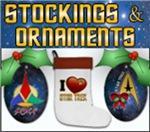 Star Trek Stockings and Ornaments