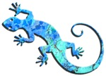 Malachite Blue Gecko