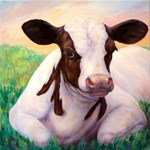 Peaceful Calf