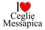I Love (Heart) Ceglie Messapica, Italy