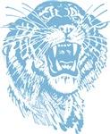 Blue Tiger Graphic