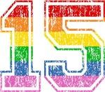 Retro 15 Rainbow