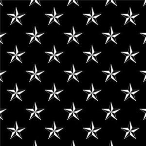 Star Pattern Black