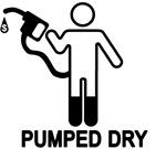 Gas Pumped Dry T-shirts