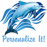 PERSONALIZED Ocean Dolphin