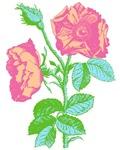 Pop Art Rose T-shirts