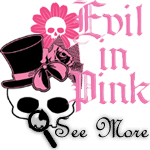 Evil In Pink T-shirts & Gifts