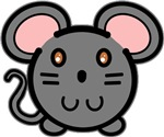 Gray Mousie T-shirts