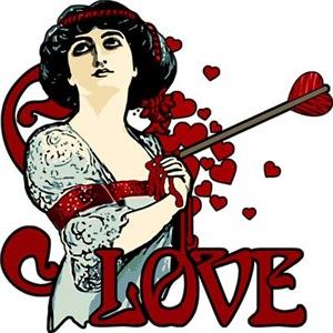 Art Nouveau Painful Love