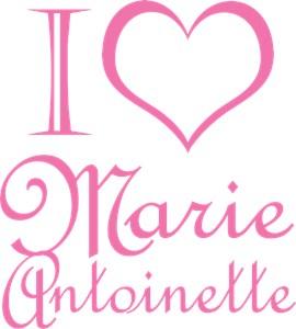 I Love Marie Antoinette Pink