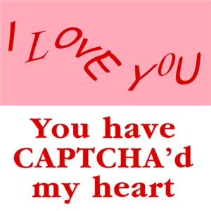 Captcha'd My Heart