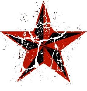 Worn Nautical Star