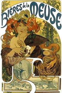 Vintage Art Nouveau Poster Art