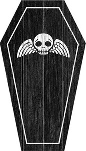 Cute Gothic Coffin