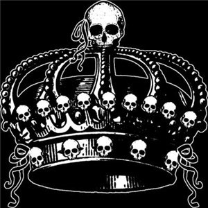 Gothic Skull Crown