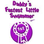 Daddy's Fastest Little Swimmer