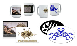 Mugs, Stickers, Posters