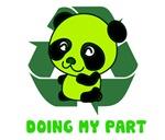 recycle panda