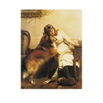 Girl and Collie