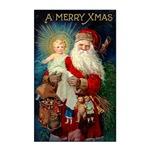 Santa holding Jesus