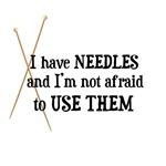 Knitting - I Have Needles