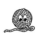 Yarn Ball Cartoon