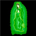 Virgen de Guadalupe - Light Green