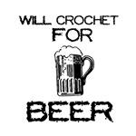 Will Crochet for Beer