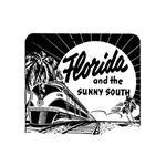 Vintage Florida Ad - Train