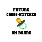 Future Cross-Stitcher on Board - Maternity
